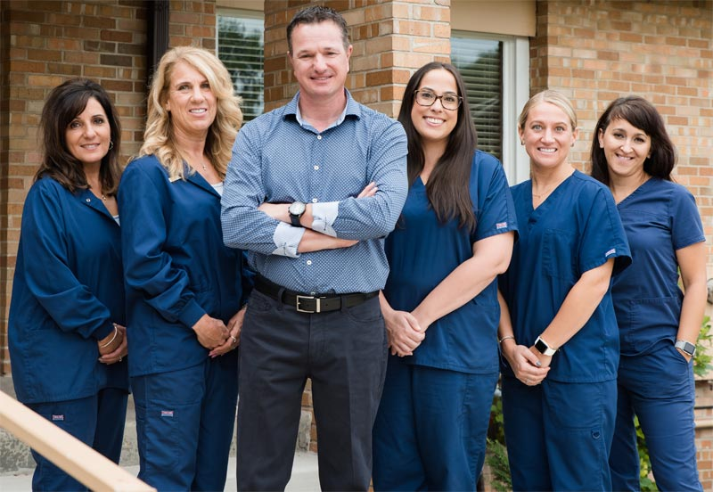 the orthodontic team from Naborowski Orthodontics